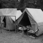 Tábor Budětín - elektrický stan