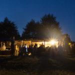 Tábořiště v noci